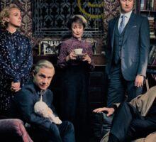 Sherlock Cast - Season 4 Sticker