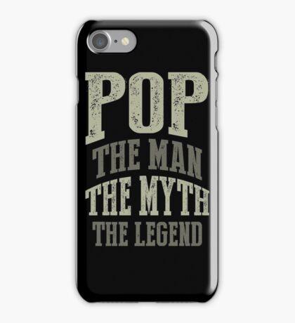 Pop The Man T-shirt Gift! iPhone Case/Skin