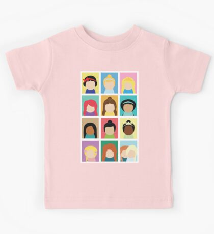 Princess Inspired Kids Tee