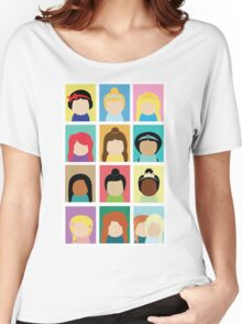 Princess Inspired Women's Relaxed Fit T-Shirt