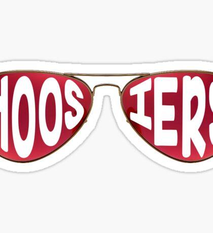 Hoosier Sunglasses Sticker