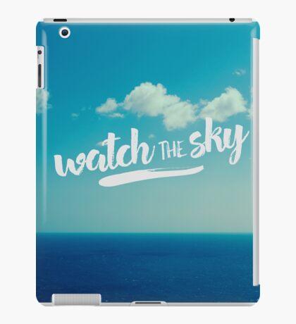 watch the sky iPad Case/Skin