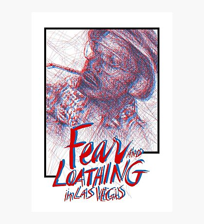 Fear & Loathing Photographic Print