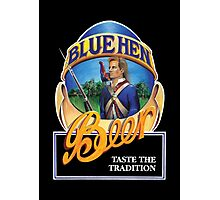 Blue Hen Beer Photographic Print