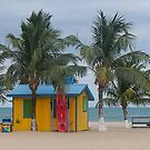 Placencia, Belize beach scene by David Galson