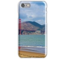 Golden Gate Cloudy Day Pelicans iPhone Case/Skin