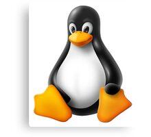 Linux Penguin – Tux Canvas Print