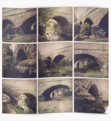 Hipstamatic Collage #11 [Coburg Lake] Poster