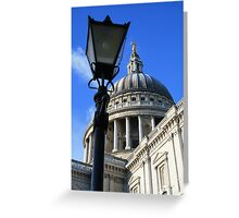 St Pauls Cathedral Greeting Card