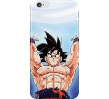Goku Spirit Bomb iPhone Case/Skin
