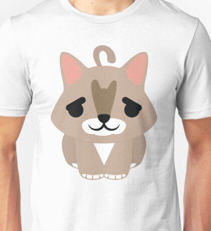 Maine Coon Cat Emoji Pretty Please Face Unisex T-Shirt
