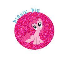 PinkiePieGlitter Photographic Print