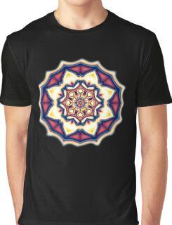Mandala kaleidoscope geometric fractal symbol 1 Graphic T-Shirt