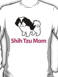 Cute Shih Tzu Mom Cartoon Shih Tzu T-Shirt T-Shirt