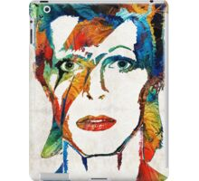 David Bowie Art Tribute by Sharon Cummings iPad Case/Skin