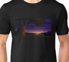 Fantasy Tree at Twilight - Landscape Digital Painting Unisex T-Shirt