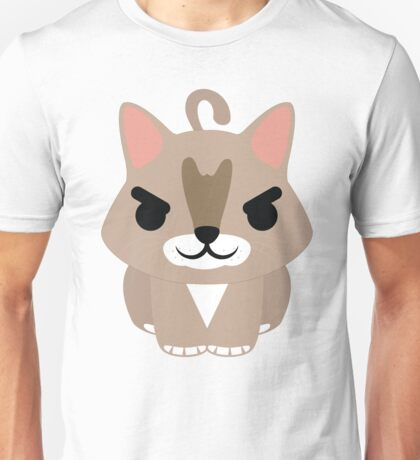 Maine Coon Cat Emoji Naughty and Cheeky Face Unisex T-Shirt