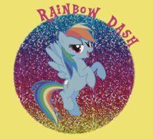 RainbowDashGlitter Kids Clothes