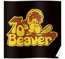 70's Beaver Poster