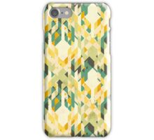 des-integrated tartan pattern iPhone Case/Skin