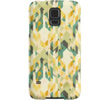des-integrated tartan pattern Samsung Galaxy Case/Skin