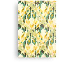 des-integrated tartan pattern Metal Print
