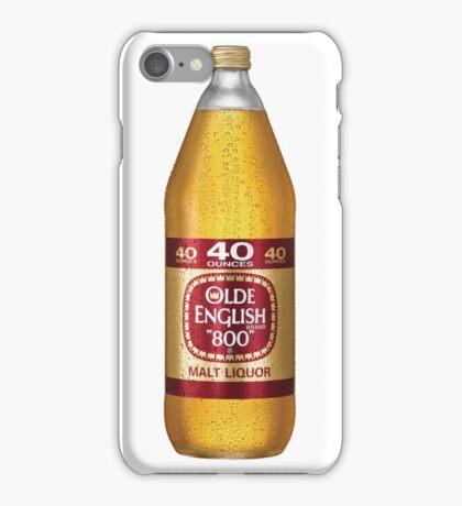 Old English 40z iPhone Case/Skin