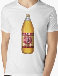 Old English 40z Mens V-Neck T-Shirt