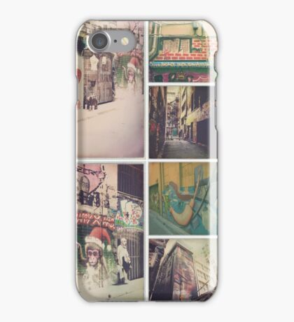 Hipstamatic Collage #15 [Melbourne Street Photography] iPhone Case/Skin