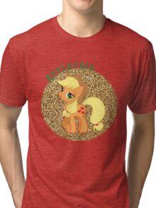 AppleJackGlitter Tri-blend T-Shirt