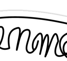 Luke Hemmings Signature (5 Seconds Of Summer) Sticker