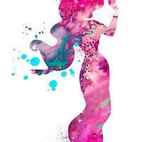 Jasmine by Watercolorsart