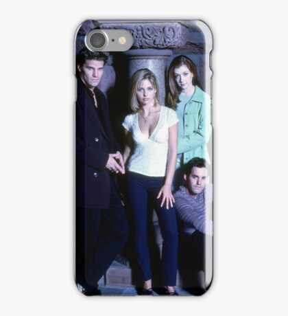 Angel, Buffy, Willow, and Xander iPhone Case/Skin