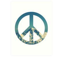 Peaceful Mountains Art Print