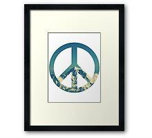 Peaceful Mountains Framed Print