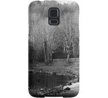 Trees in winter Samsung Galaxy Case/Skin