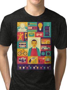 Upside Down Tri-blend T-Shirt