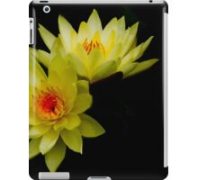 Yellow Water Lily Duo iPad Case/Skin