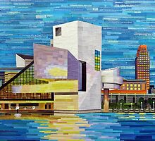 Downtown Cleveland Skyline  by Shawna Rowe