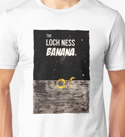 The Loch Ness Banana Unisex T-Shirt