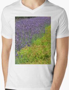 Lovely Lavender Mens V-Neck T-Shirt
