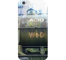 Sulphuric Acid Only  iPhone Case/Skin
