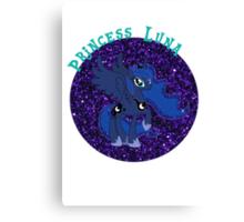 PrincessLunaGlitter Canvas Print