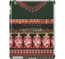 green coat of arms iPad Case/Skin