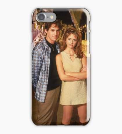 Buffy Summers and Xander Harris iPhone Case/Skin