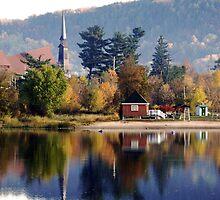 Mattawa in autumn by Janet Gosselin