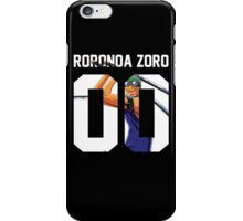 Roronoa Zoro Squad Jersey iPhone Case/Skin
