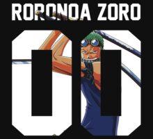 Roronoa Zoro Squad Jersey by Dondru