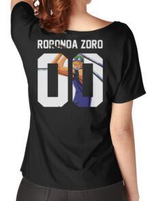 Roronoa Zoro Squad Jersey Women's Relaxed Fit T-Shirt