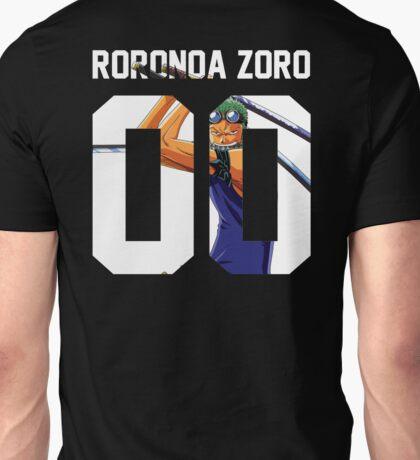 Roronoa Zoro Squad Jersey Unisex T-Shirt